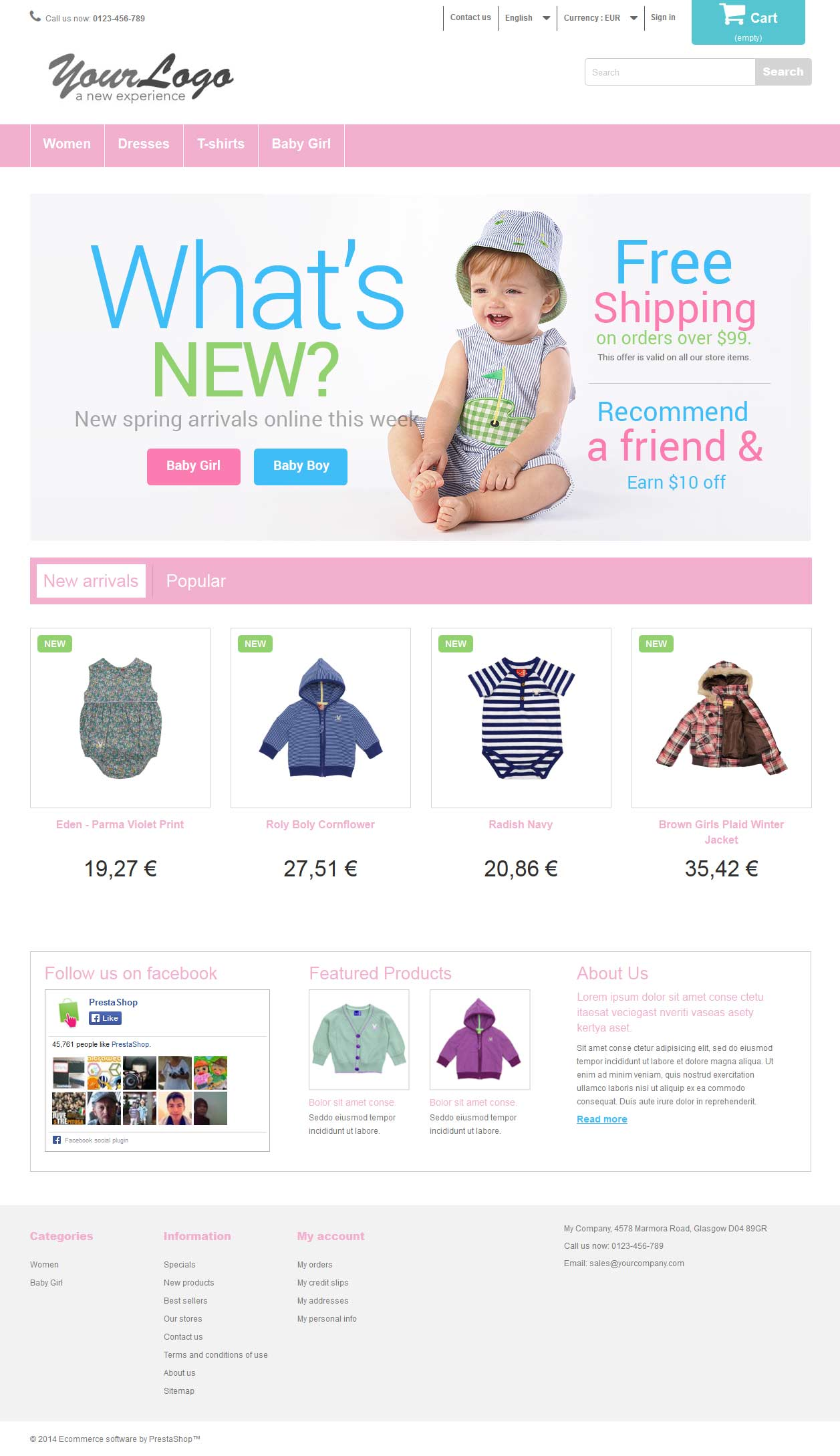 E-Commerce Template Two